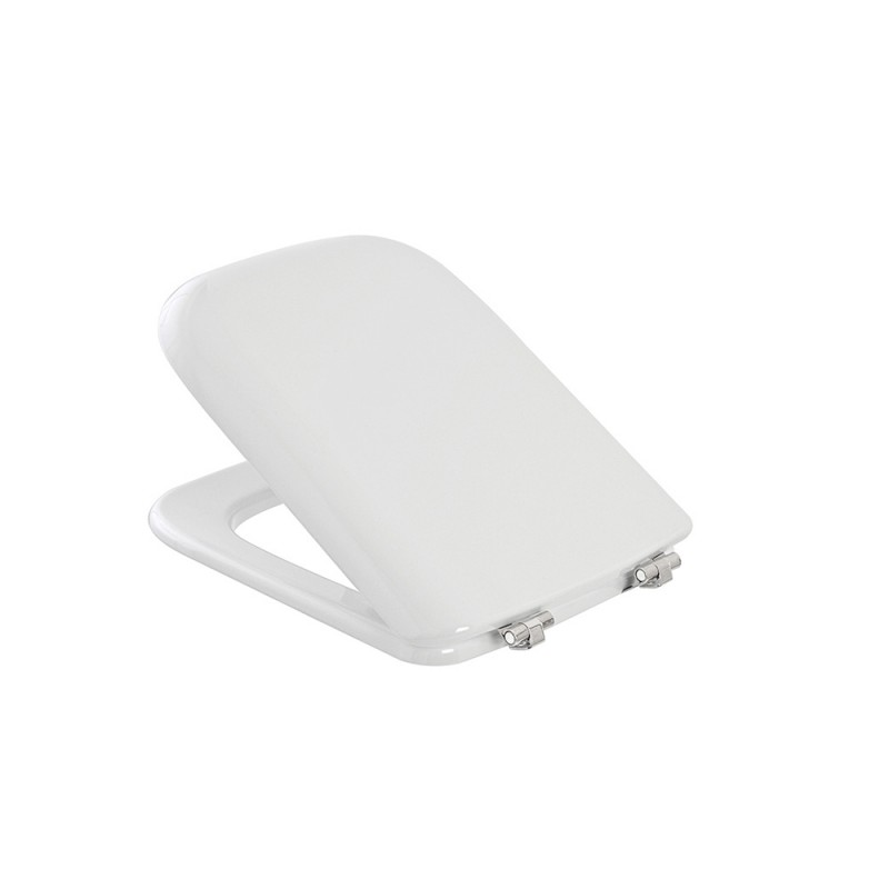 Sedile WC Dedicato VITRUVIT serie GIRONDA in Termoindurente Bianco Lucido