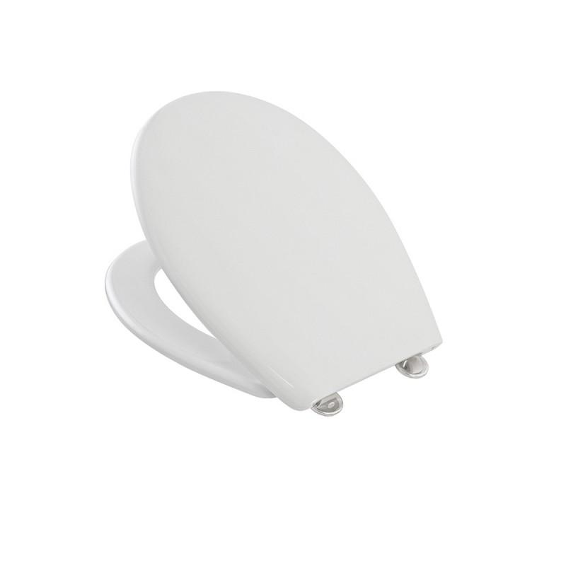 Copriwater Compatibile per WC Roca serie Polo in termoindurente Bianco