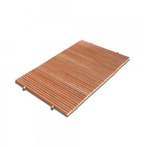 tappeto in legno antiscivolo da bagno