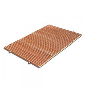 pedana doccia in legno antiscivolo