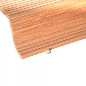 tappeto da bagno in legno antiscivolo