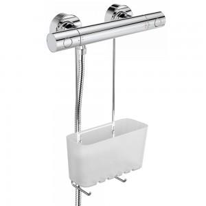 Porta sapone Doccia Plastica Trasparente 1Ripiano