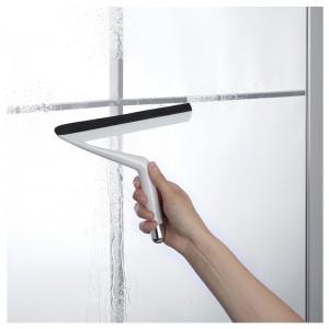 Pulisci Vetro In Plastica con gancio a Ventosa Per Vetri e Finestre