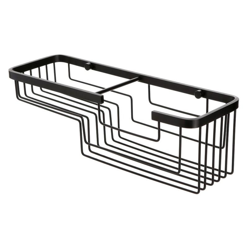 Griglia per Doccia Alluminio Nero dal Design Moderno Stile Industrial