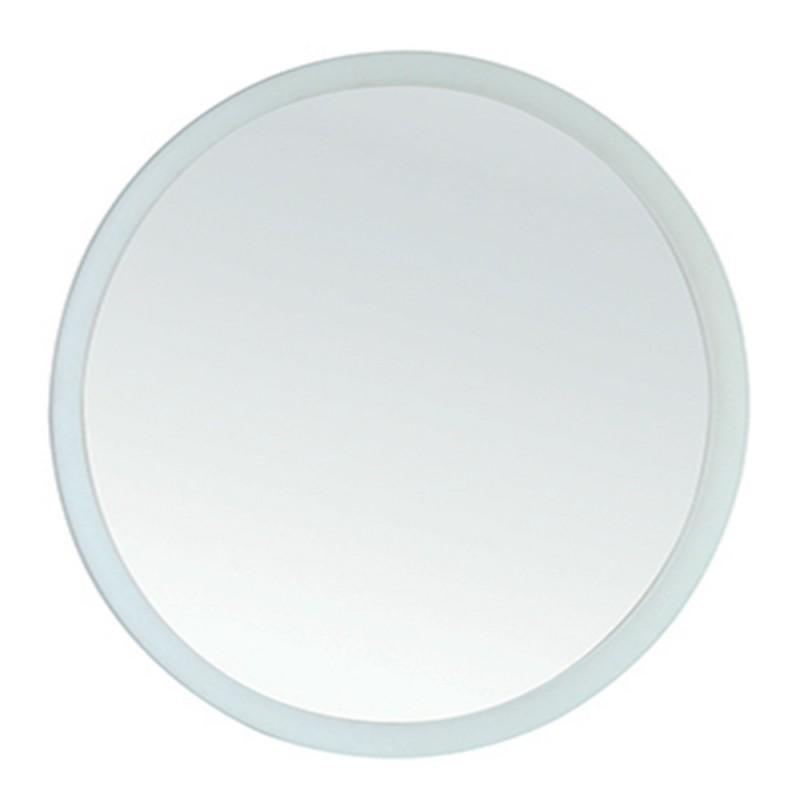 Specchio Tondo da Bagno diametro 80 cm su pannello Design Moderno