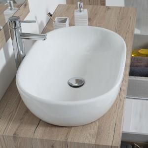 ciotola ovale per top bagno