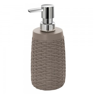 Dispenser bagno sapone liquido tortora
