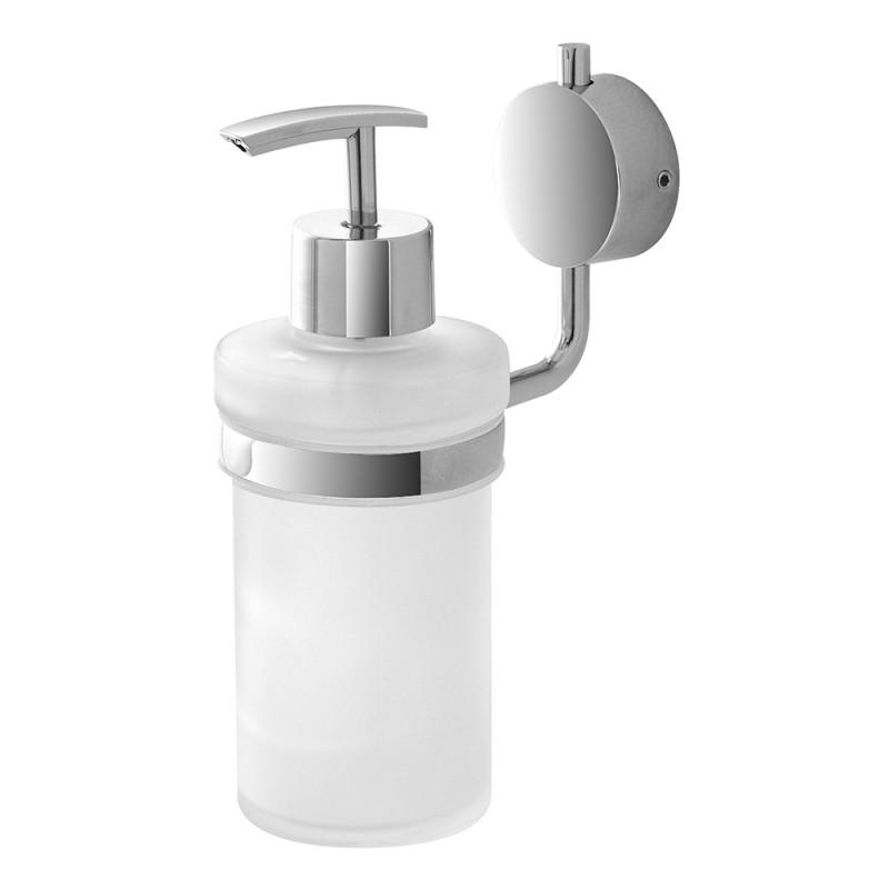 Dispenser Sapone Liquido a Muro Doppio sistema di Fissaggio