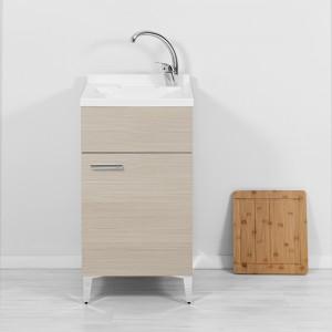 mobile lavanderia lavapanni 45 cm larice