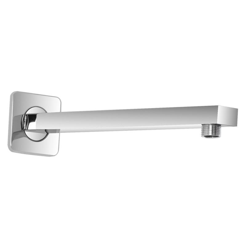 Braccio Doccia Quadrato 25 cm in Acciaio Nuovo Design