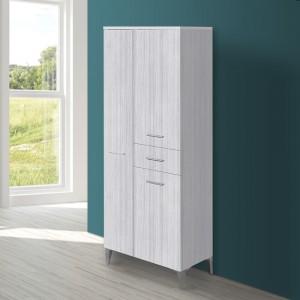 Colonna bagno legno grigio 60 cm