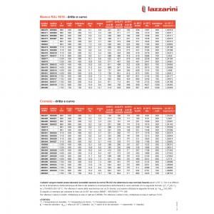 Lazzarini Termoarredo Bianco SANREMO 110x50 Cm Int. 45 Cm Dritto