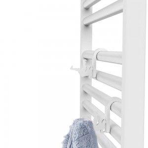 Appendini Bianco Plastica Omino Universale per Termoarredo