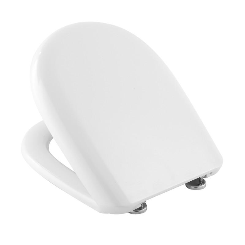 Copriwc VITRUVIT in colore Bianco compatibile Serie Young