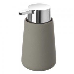 dispenser portasapone grigio ceramica