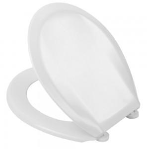 "Copriwater Universale 18"" Antibatterico in Termondurente - 1,4 kg Bianco"