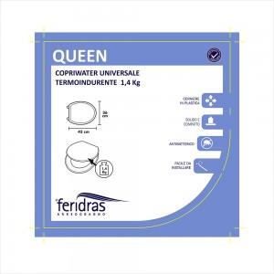 Copriwater Universale Antibatterico in Termondurente bianco immagine_2