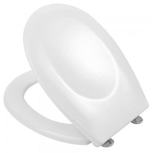 """Copriwater Universale Termoindurente 18"""" con Cerniere a Scatto - 1,85 kg Bianco"""