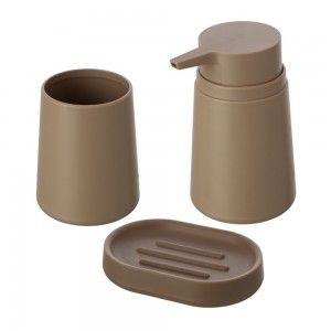 set accessori bagno d'appoggio in abs feridras pop