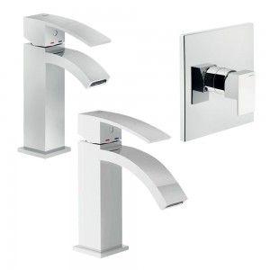 set rubinetti lavabo, doccia, bidet Nobili Ray