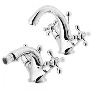 set rubinetti lavabo e bidet Nobili serie Grazia