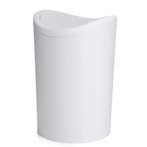 Pattumiera Tatay bianca 6 lt con coperchio basculante online