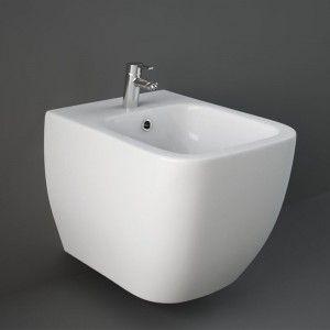 Bidet sospeso Rak Ceramics serie Metropolitan in ceramica bianco