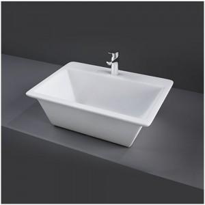 Lavabo da appoggio in ceramica colore bianco alpino Rak Ceramics