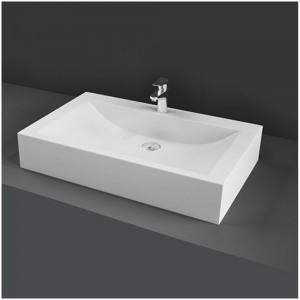 Lavabo d'appoggio modello Scoop bianco Rak Ceramics