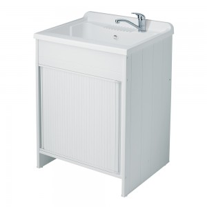 mobile lavatoio con vasca IN RESINA DA ESTERNO