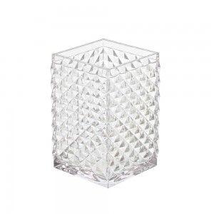 Portaspazzolino bianco trasparente