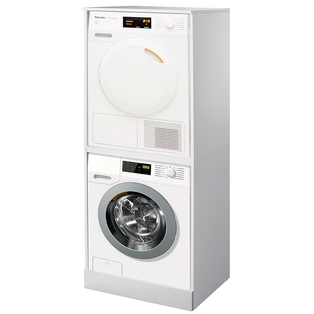 Colonna Per Lavatrice E Asciugatrice mobile coprilavatrice e asciugatrice a colonna bianco da interno
