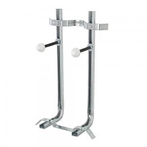 Staffe per WC + Bidet Sospesi in Acciaio portata 400 kg