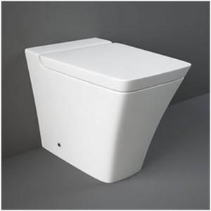 WC Filomuro Serie Opulence Rak Bianco completo di copriwater originale