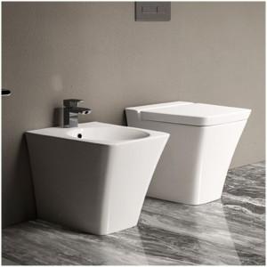 Vaso Filomuro serie Opulence di Colore bianco Rak Ceramics