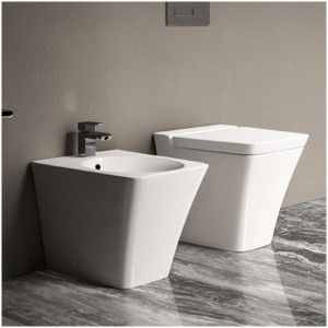 Bidet Filomuro serie Opulence di Colore bianco di Rak Ceramics