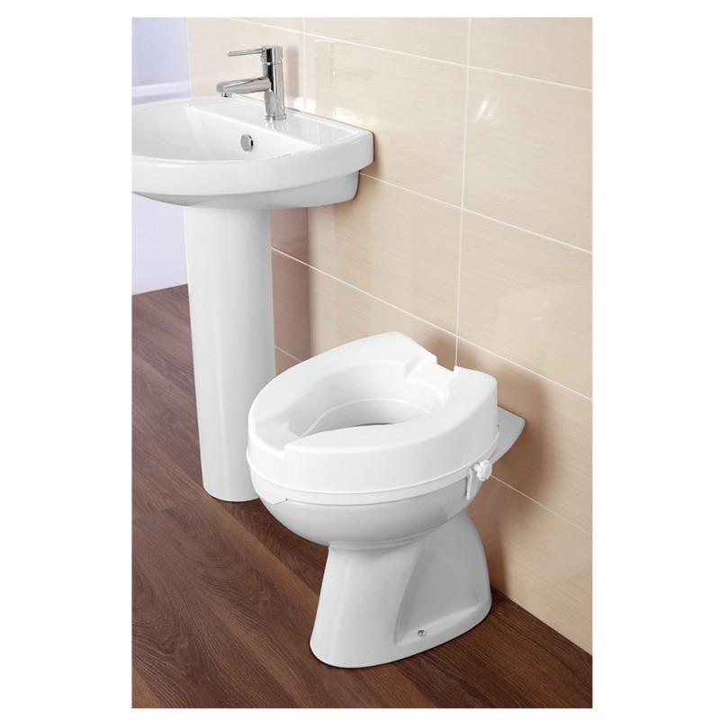Rialzo per Seduta WC Universale Vasi Bagno per Disabili o Anziani