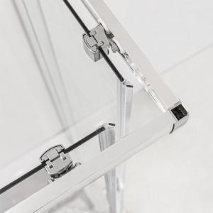 Moderno Box Doccia 70x70 cm in cristallo trasparente