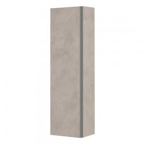 Pensile da H135 cm Effetto Pietra Beige 4 Ripiani