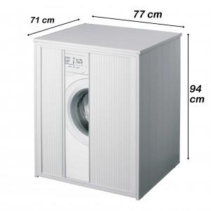 Coprilavatrice in PVC 77x71 ideale per esterno compatibile con tutti i tipi