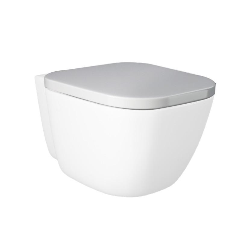Tavoletta Copriwc RAK ceramiche serie ONE in Termoindurente Bianco