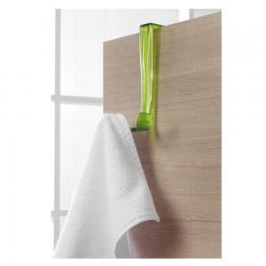 Appendino dietroporta o per box doccia in resina trasparente