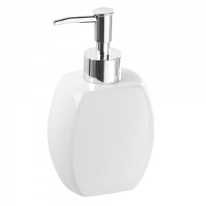 Dispenser Sapone in Ceramica Bianco Linea Parigi Feridras
