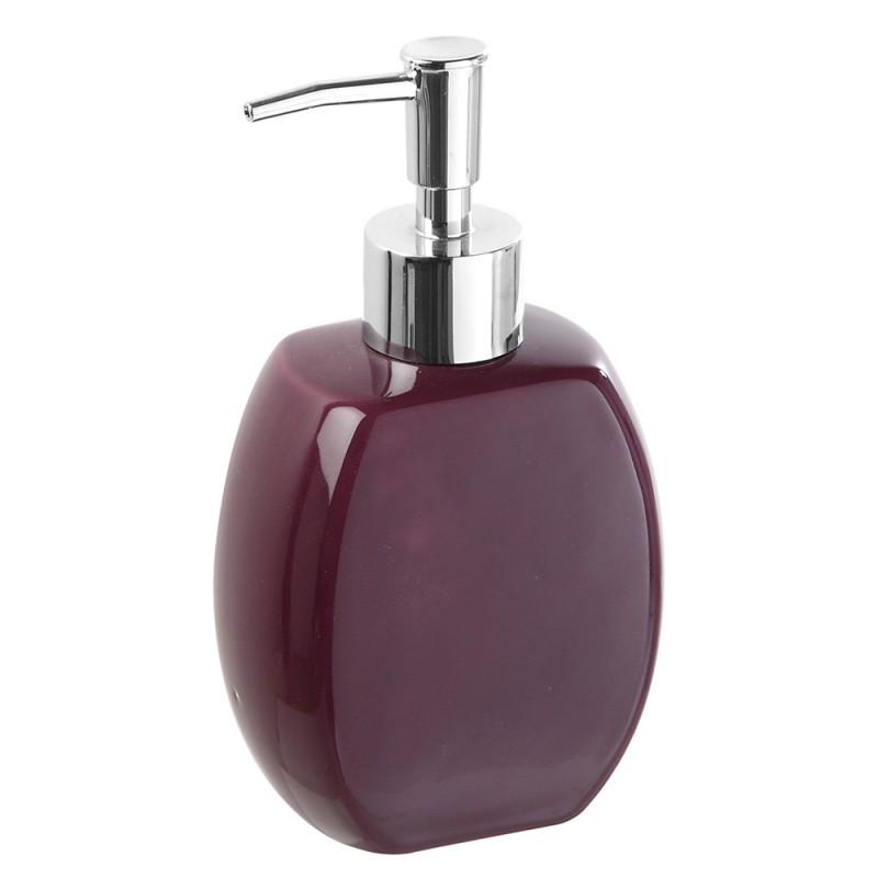 Dispenser in ceramica viola linea parigi - Accessori bagno viola ...