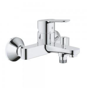 Miscelatore vasca/doccia grohe bauedge in ottone cromo senza doccetta e laccio