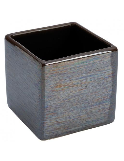 Portaspazzolino in Ceramica Fango Linea Cuba
