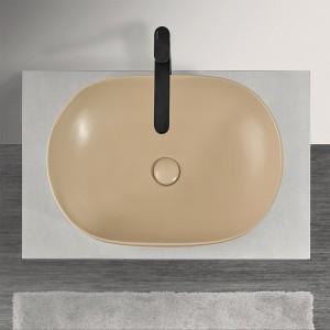 Lavabo  da Appoggio Ovale 60x41,6 cm