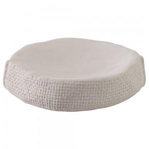 Portasapone in Ceramica Bianco Linea Sacco