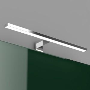 Lampada LED 50 cm Universale per Specchio a Filo o Pannello in abs Cromo