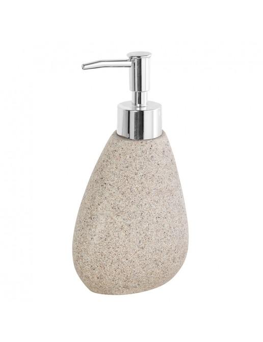 Dispenser in Poliresina Effetto Pietra Sabbia Linea Stone